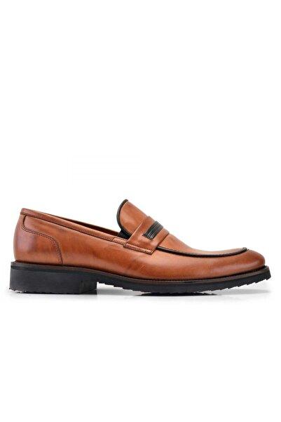 Nevzat Onay Hakiki Deri Taba Günlük Loafer Erkek Ayakkabı -7568-