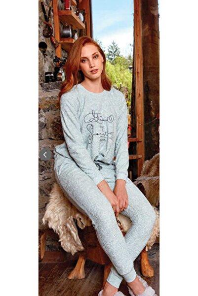 Berrak Kadın Desenli Pijama Takımı