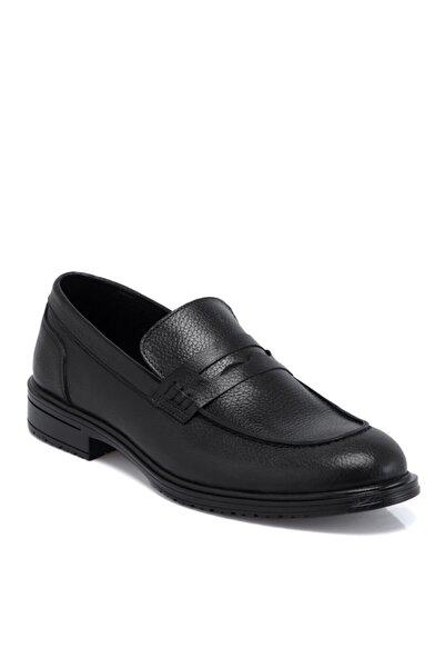 Tergan Siyah Deri Erkek Ayakkabı 55058a41
