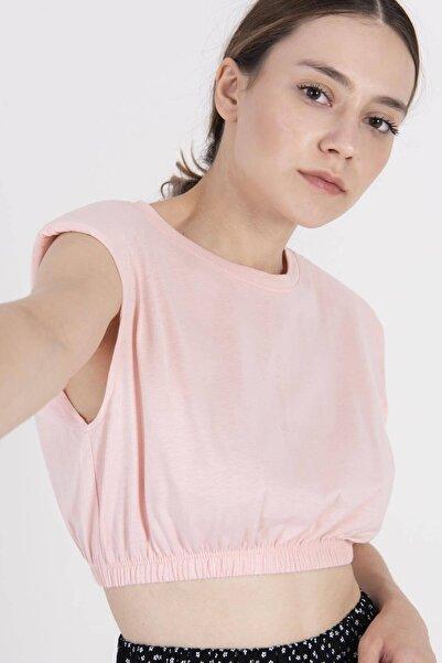 Addax Vatkalı Basic T-shirt P0992 - E13