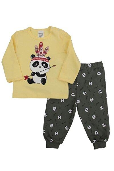 Dandini Pandalı Erkek Bebek Pijama Takım
