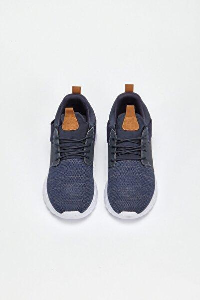 Avva Erkek Lacivert Spor Ayakkabı A02y8022
