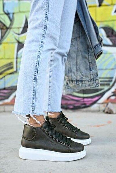 Kadın  Haki Ch258 Bt Sneaker