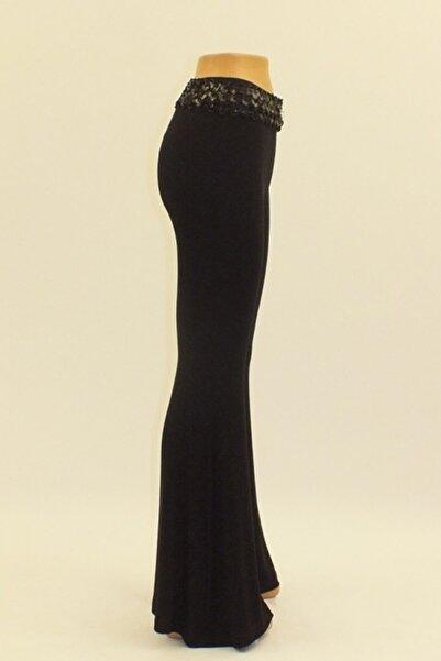 Otto Pantolon Yeni Model Balık Pantolon Kalın Dökümlü Yüksek Bel Viskon Pantolon