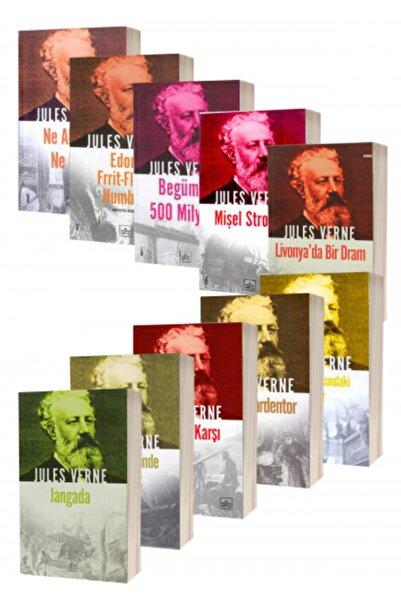 İthaki Yayınları Jules Verne 10 Kitap Takım