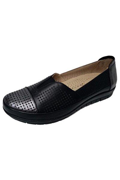 Nehir Üçel 138 Hakiki Deri Ortopedik Kadın Ayakkabısı