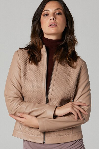 Derimod Latoya Kadın Deri Ceket