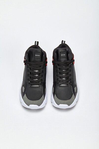 Avva Erkek Siyah Spor Ayakkabı A02y8011