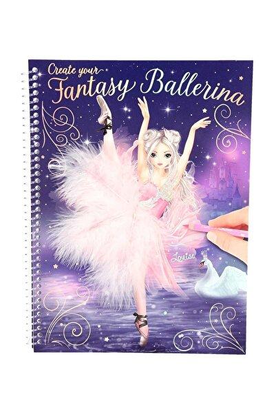 Top Model Fantasy Model Balerin Boyama Kitabı 10195