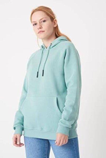 Kadın Mint Cep Detaylı Sweat S7066-1 - I11 - I12 ADX-0000019965