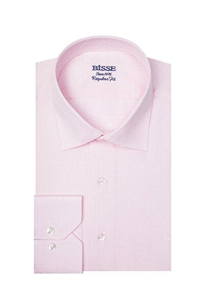 Bisse Regular Fit Desenli Klasik Gömlek