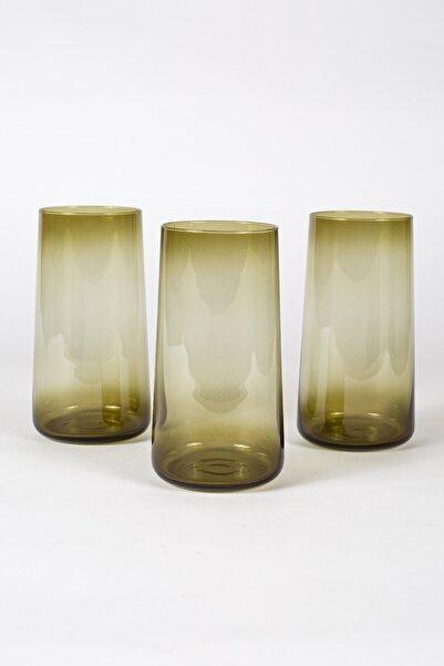Rakle Shadow 3'lü Meşrubat Bardağı Seti Yeşil 540 Cc