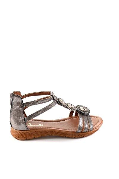 Bambi Kurşun Kadın Sandalet H0564011936