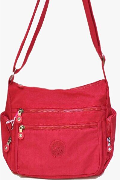 SMART BAGS Kırmızı Kadın Çapraz Çanta Smb1115-19