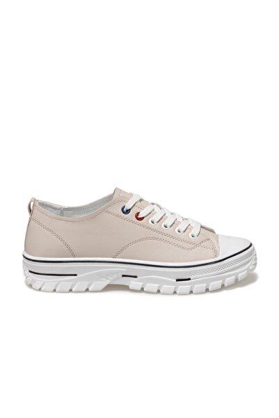 Butigo 20k-878 Bej Kadın Havuz Taban Sneaker