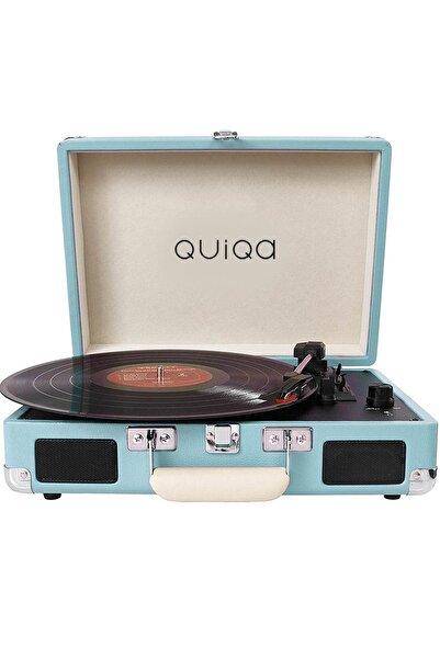 QUIQA T316 Blue Retro Çanta Pikap - Tüm Plakları Çalabilmektedir