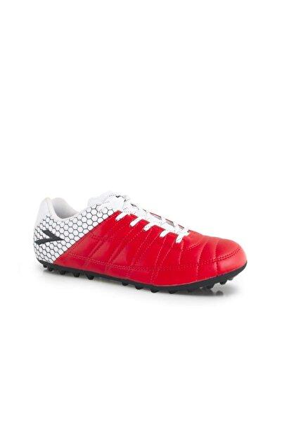 LIG Erkek Kırmızı Beyaz Ilgaz Halı Saha Ayakkabısı