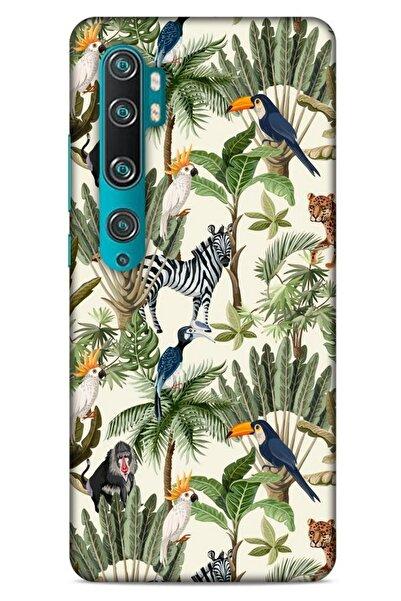 Lopard Animax Jungle House Xiaomi Mi Note 10 Kılıf Desenli Silikon