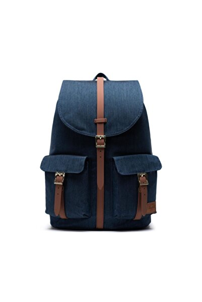 Herschel Supply Co. Herschel Supply Sırt Çantası Dawson Indigo Denim Crosshatch