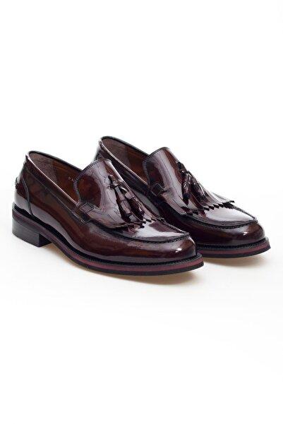 Fosco Bordo Rugan Hakiki Deri Corcik Erkek Ayakkabı • A20eyfsc0013