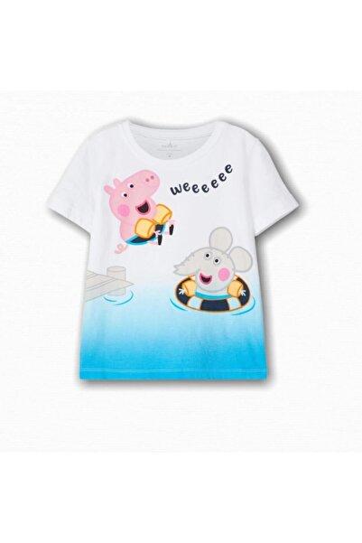 name ıt Erkek Çocuk Peppa Pig Baskılı T-shirt