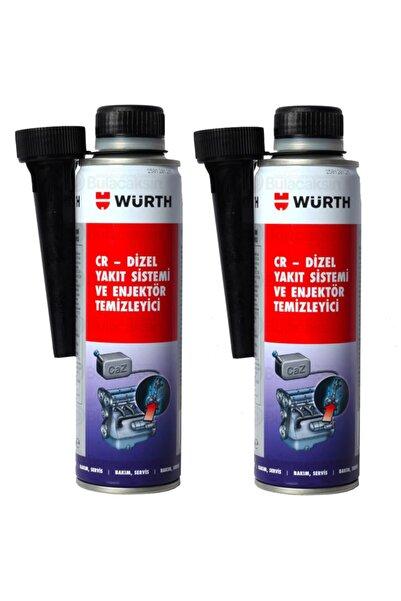 Würth 2x Dizel Enjektör Temizleyici Performans Iyileştirici 300ml
