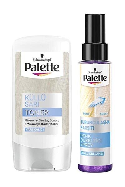 Palette Küllü Sarı Saç Toneri Paketi 2