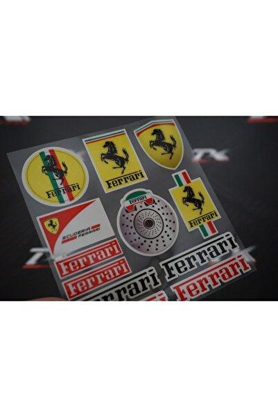 Ferrari Logo Grup Sticker
