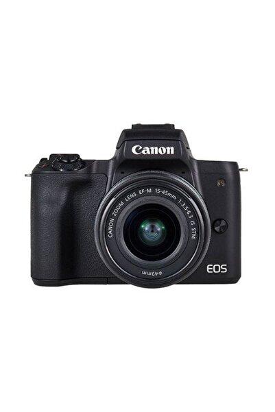 Canon EOS M50 + EF-M 15-45mm f/3.5-6.3 IS STM Fotoğraf Makinesi (Canon Eurasia Garantili)