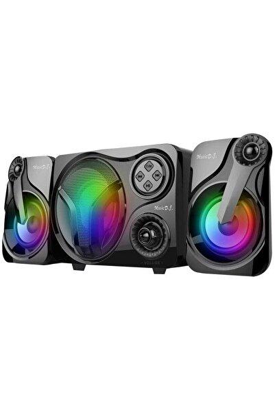 Music D.J Sp60 2+1 Usb Sd Fm Karaoke Ve Bluetooth Ses Sistemi 12w