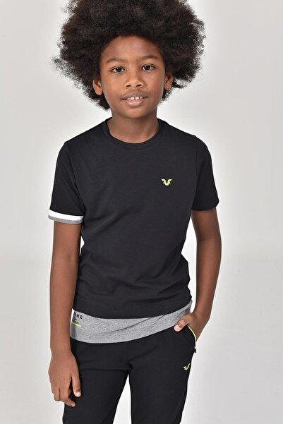 bilcee Siyah Erkek Çocuk T-Shirt GS-8163