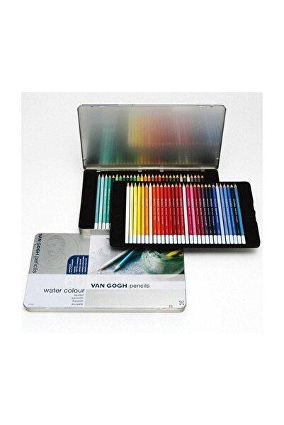 Talens Van Gogh Watercolor Pencil Aquarel Boya 60 Renk Metal Kutu