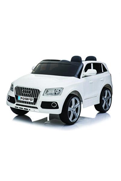 BabyHope Q-suv Akülü Jeep 12 Volt Akülü Araba Beyaz
