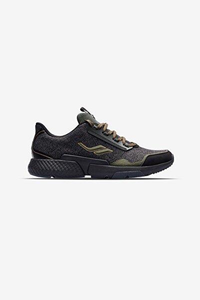 Lescon Erkek Siyah Haki Koşu Antrenman Ayakkabısı