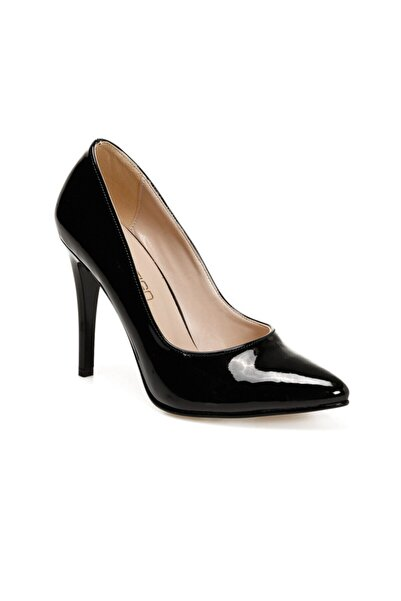 Butigo Kyle Siyah Kadın Topuklu Ayakkabı