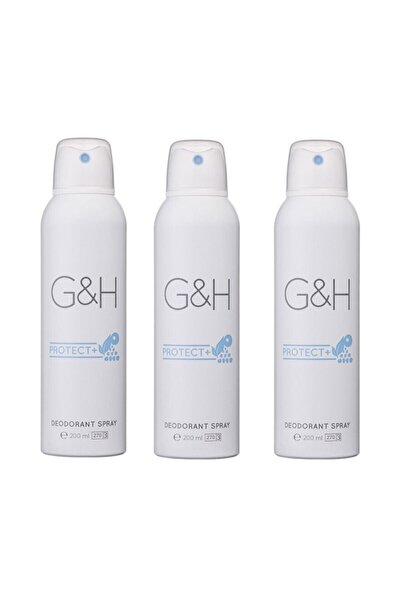 Amway 3 Adet Deodorant Spray - G&h Protect+