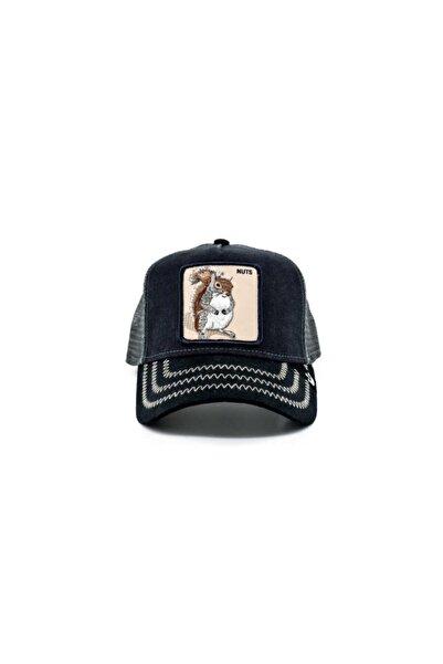 Goorin Bros Unisex Lacivert Squirrel Master Standart Şapka