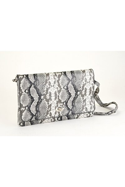 Coquet Accessories Siyah Beyaz Bellini Clutch