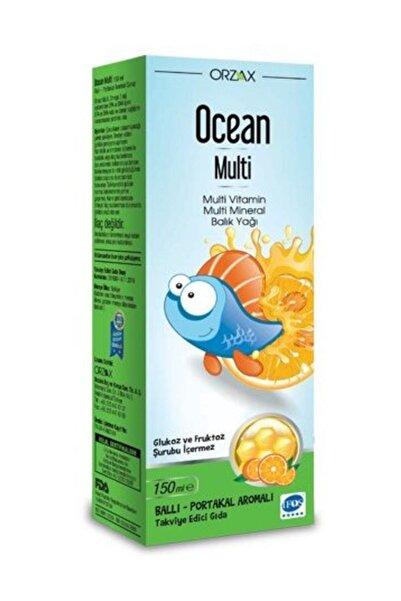 Ocean Multi Vitamin Ve Balık Yağı 150 ml  - Bal/Portakal