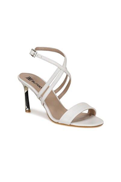 Butigo Kadın Beyaz Topuklu Ayakkabı