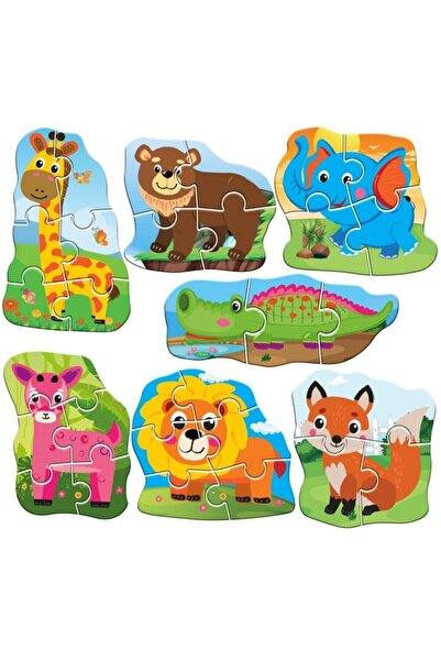 M90 Circle Toys Baby Puzzle Hayvanlar