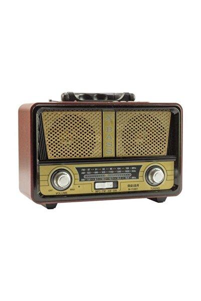 Meier M-112bt Şarjlı Nostaljik Bluetooth Fm Radyo Usb/sd/mp3