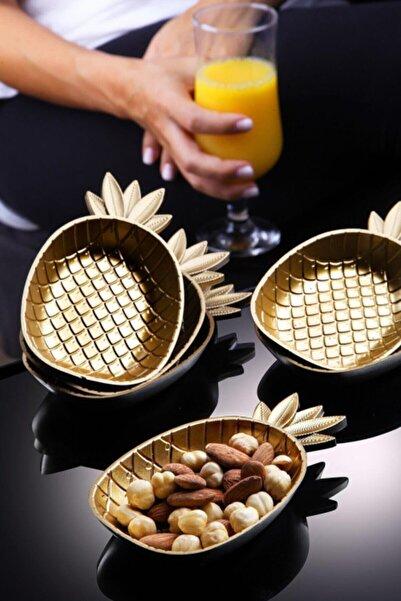 Kitchen Life Gold 6lı Ananas Çerezlik