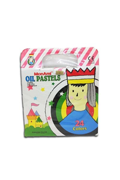 Monami Monamı Pastel Boya 24 Renk Çantalı