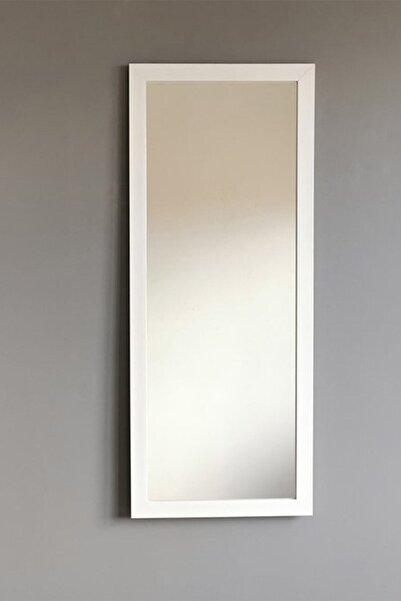 Vivense Beyaz Çerçeveli Dekoratif Boy Aynası