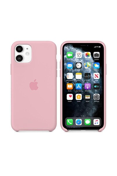 Nezih Case Iphone 11 Uyumlu Şeker Pembesi Silikon Kılıf
