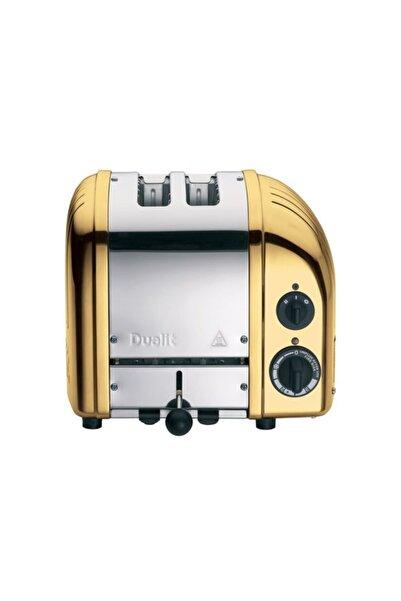 Dualit Classic 2 Hazneli Pirinç Ekmek Kızartma Makinesi 27391