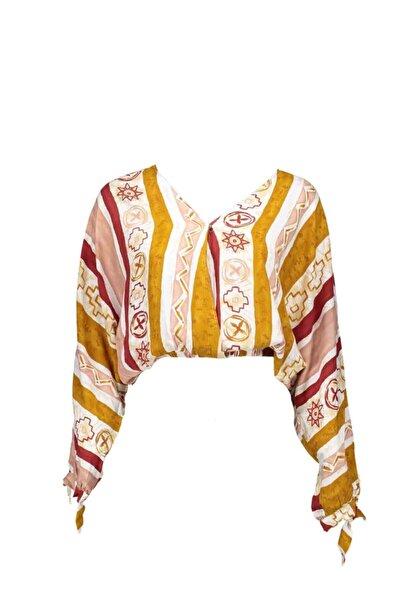Collezione Kadın Bluz Taba