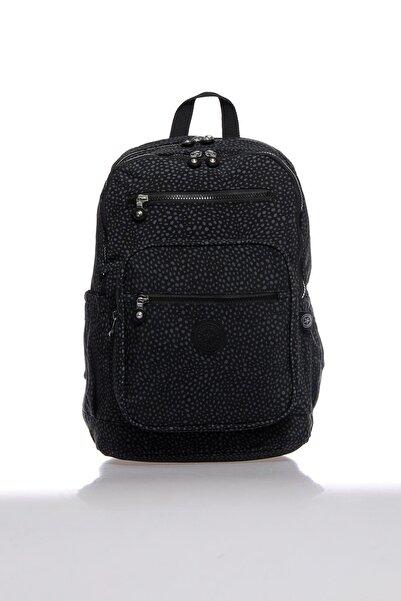 SMART BAGS Smbk1218-0091 Puantiyeli/siyah Kadın Sırt Çantası