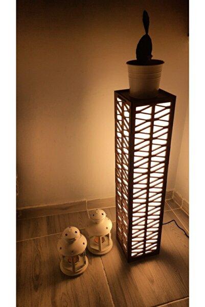 ALACA LED Kahverengi (hisar Ceviz) 72cm Lambader